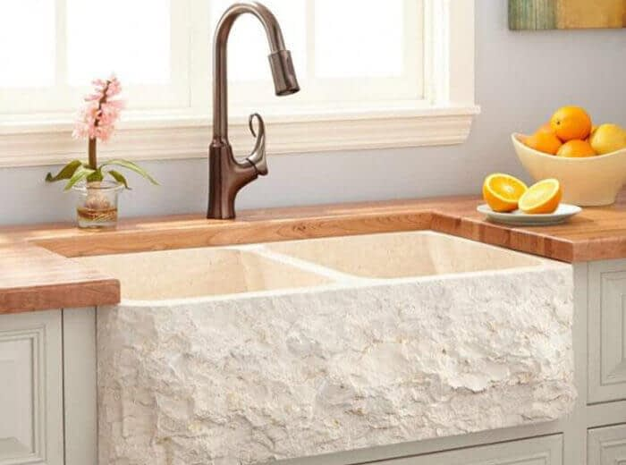 marble kitchen sinks