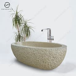 rustic granite bath tub